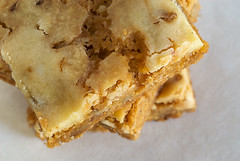 Butterscotch Cream Cheese Swirl Bars