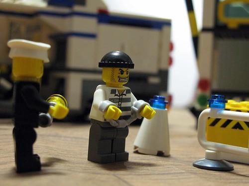 LEGO Police 逮捕!