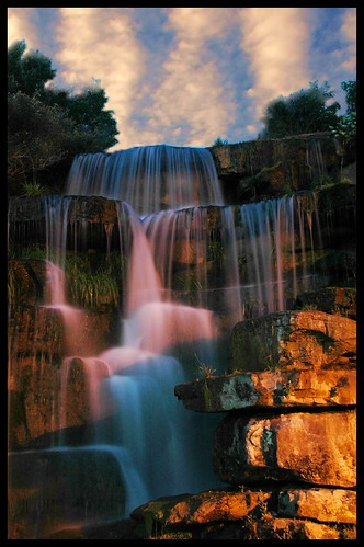 sunset sky waterfall rocks sheffield alabama bamawester napg impressedbeauty diamondclassphotographer flickrdiamond theperfectphotographer goldenvisions