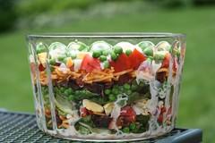 Alanna's Seven-Layer Salad / Ameerika kihilin…
