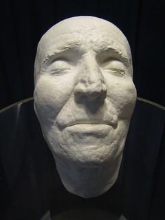 Mascara mortuoria de Haydn