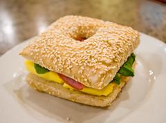 sandwich, meal, breakfast, ham and cheese sandwich, food, dish, breakfast sandwich, cuisine,