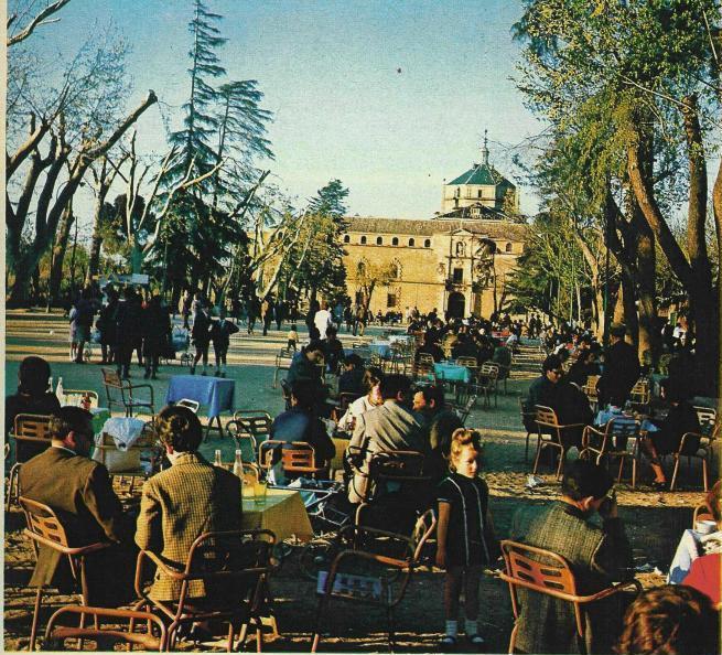 Paseo de Merchán o de la Vega, Toledo en 1967