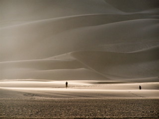 People on the Dunes