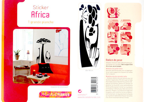 mes grands stickers style r tro forum stickers marie claire. Black Bedroom Furniture Sets. Home Design Ideas