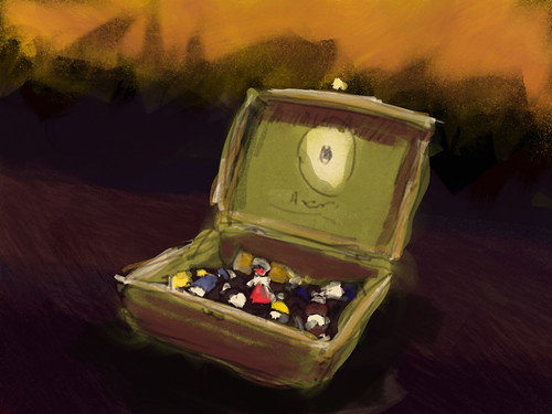 my paintbox, done with artrage software