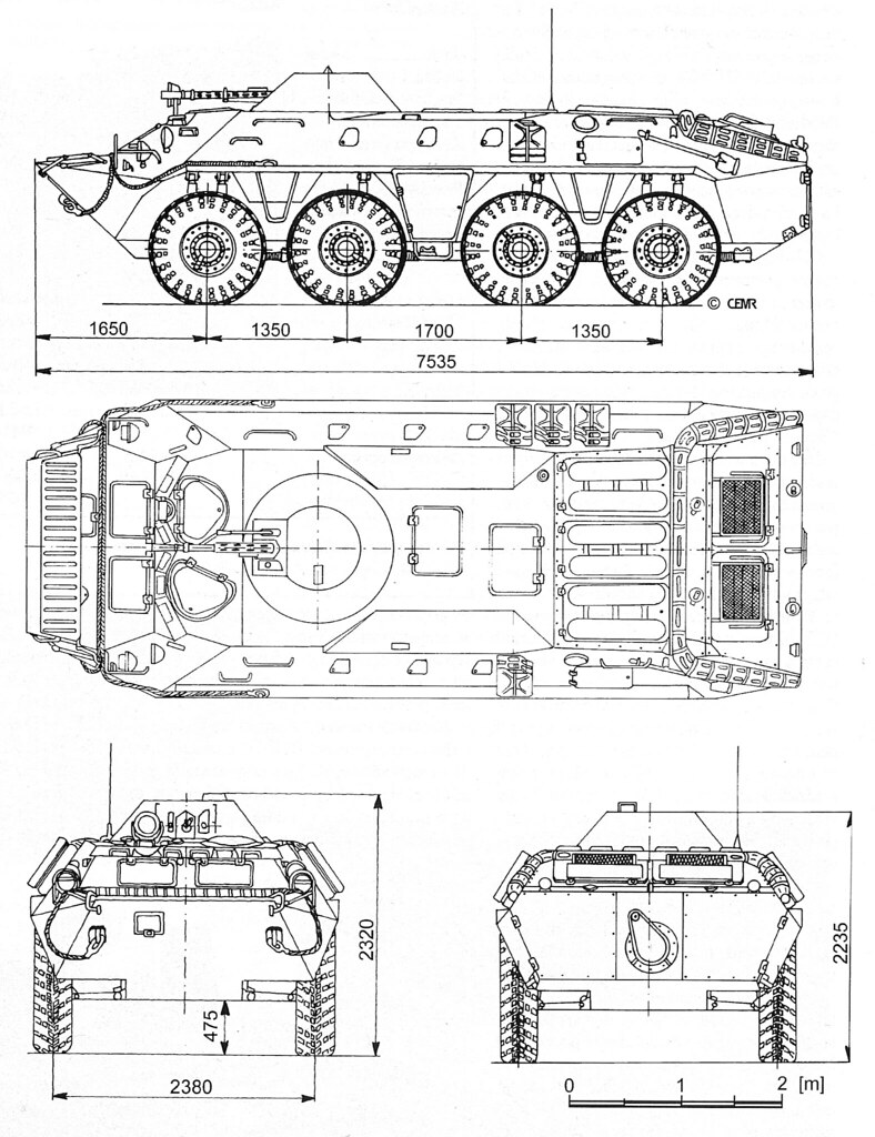btr-70 apc schematic drawing
