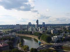 Vilnius's financial district
