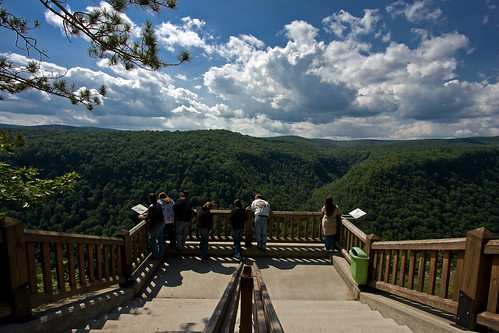 trip people usa clouds landscape view pennsylvania grandcanyon steps scenic grand august canyon hills pa deck 2008 canon40d pagrandcanyonkumars
