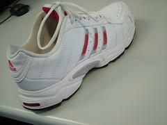 nike free(0.0), tennis shoe(1.0), outdoor shoe(1.0), sneakers(1.0), footwear(1.0), white(1.0), shoe(1.0), athletic shoe(1.0), pink(1.0),