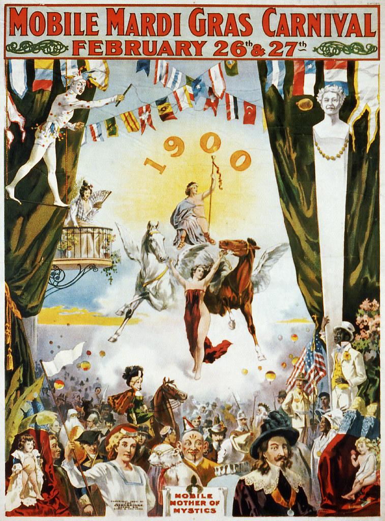 Mobile Mardi Gras Carnival, 1900