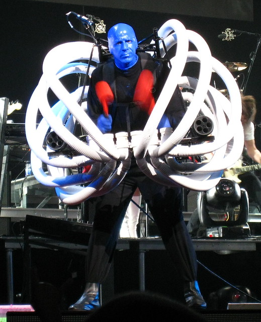 Blue Man Group How To Be A Megastar Concert Flickr