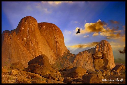 blue sky mountains stone rocks sudan falcon taka صقر totil جبل flickrsbest السودان kartpostal kassala كسلا platinumphoto theunforgettablepictures bentaher photographersgonewild التاكا اويتلا التوتيل platinumgolddoubledragon awitla