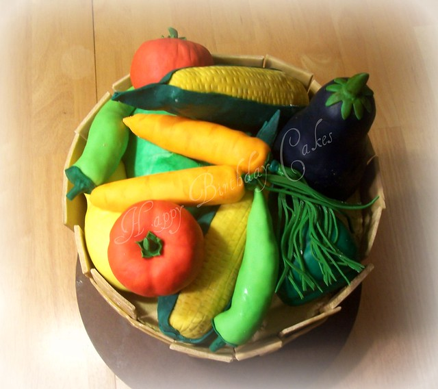 Vegetable Basket -top view  Flickr - Photo Sharing!