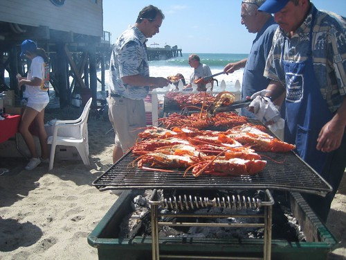 Lobster at the San Clemente Seafest