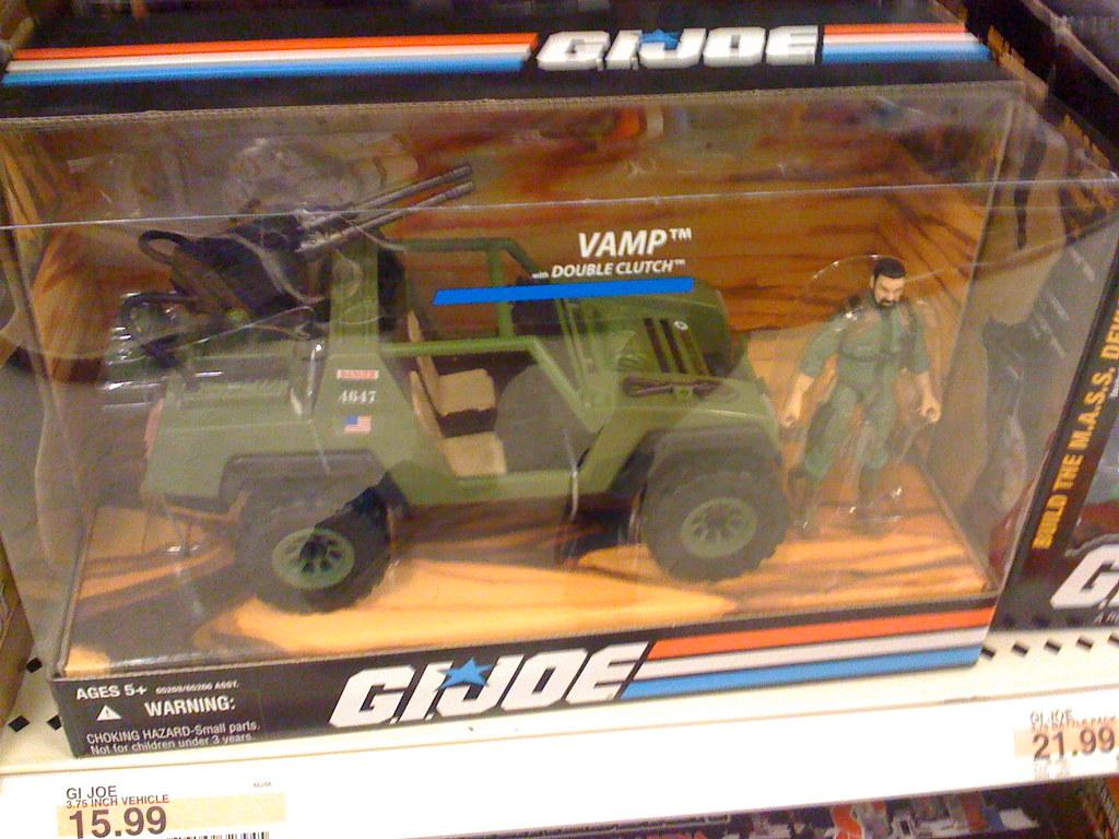 G.I. Joe toys at Target: VAMP Jeep truck - a photo on Flickriver