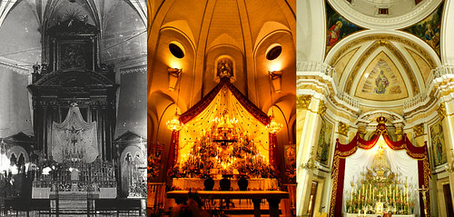 Altares de Tobarra, Elda y Petrel en fiestas patronales