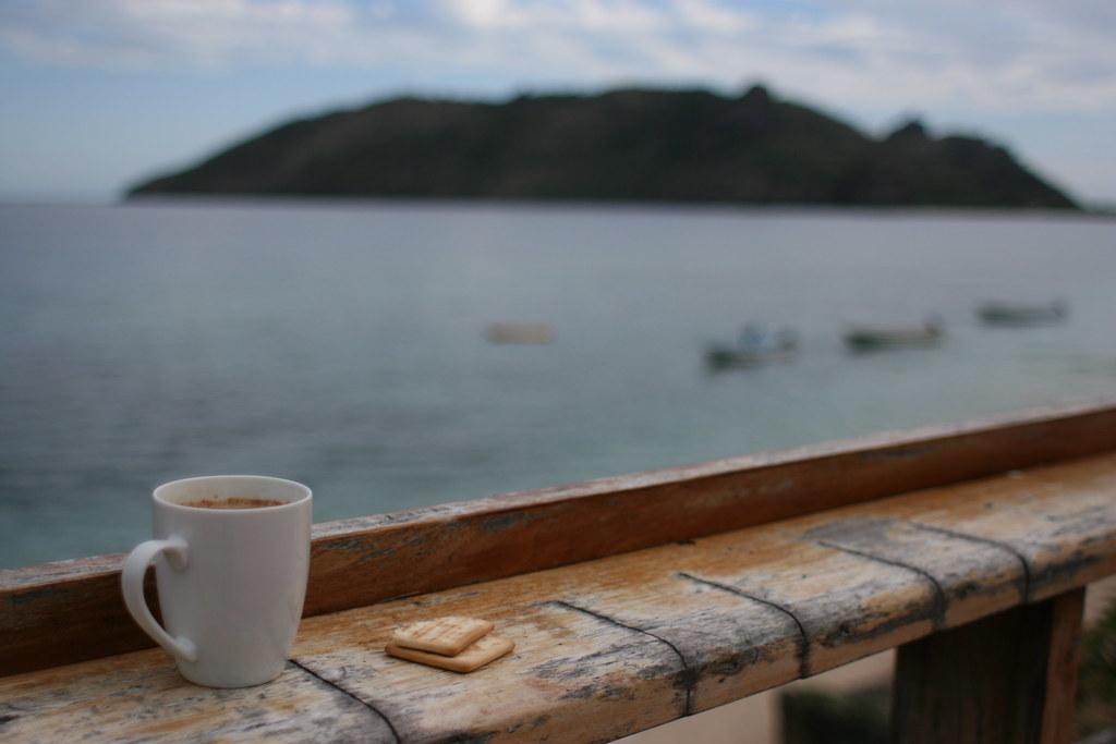 Coffee break in Fiji