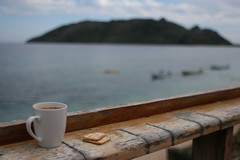 Coffee break in Fiji