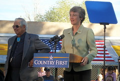 Manuel Lujan, Jr. & Heather Wilson
