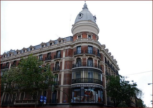 Madrid por druida edificio calle velazquez 25 11 2006 for Calle prado 8 madrid