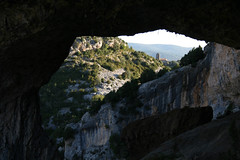 natural arch, formation, geology, terrain, cave, rock,