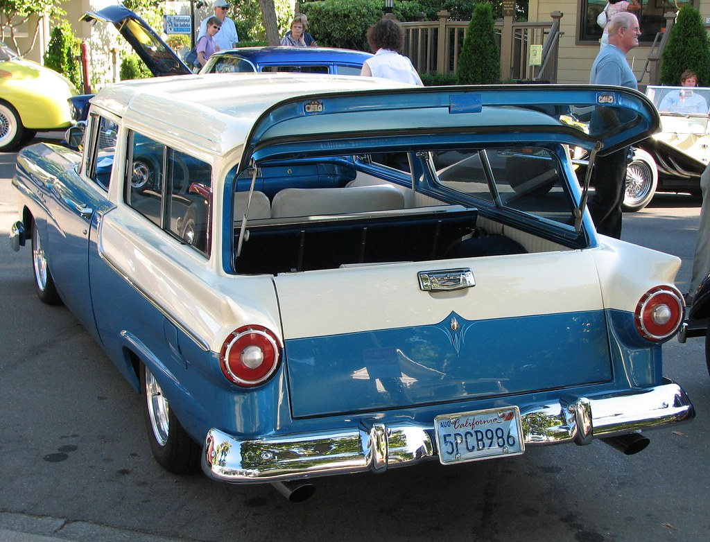 1957 ford 2 door ranch wagon custom 5pcb986 5