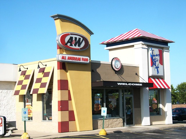 a w kfc combo restaurant oak creek wi flickr photo sharing. Black Bedroom Furniture Sets. Home Design Ideas