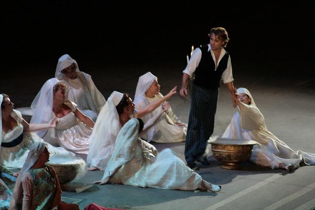 Faust, Roberto Alagna; Chorégies 2008 (ORANGE,FR84)
