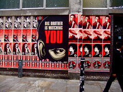 Shepard Fairey in London: Big Brother Is Watching YOU