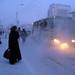 One day in Yakutsk. Nov. 27, 2008.