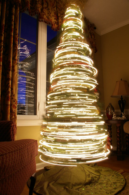 Spinning Christmas Tree