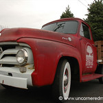 Christmas Trees in Old Ford Truck - Vienna, Virginia