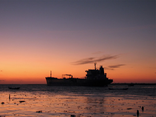 sunset sky india silhouette canon evening ship dusk kerala s2is cochin kochi greatphoto sangeeth fortkochi fortcochin