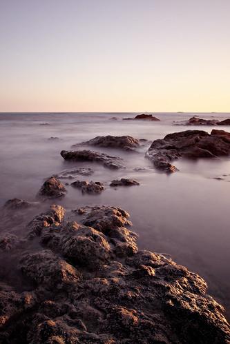 ocean sunset costa seascape beach clouds grande costarica pacific playa rica pacificocean filter slowexposure playagrande neutraldensity bw110