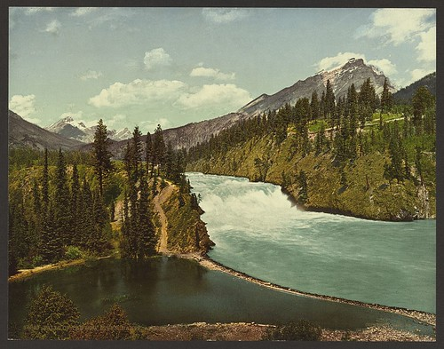 Falls of the Bow River, Banff, Alberta (LOC)