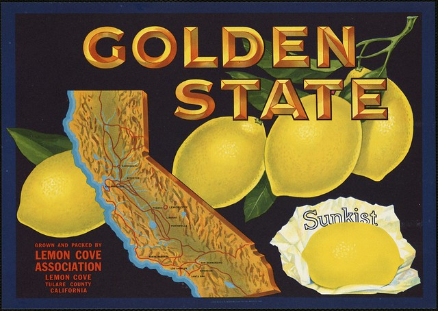Golden State: Grown and packed by Lemon Cove Association ...