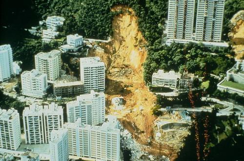 Landslide in Midlevels