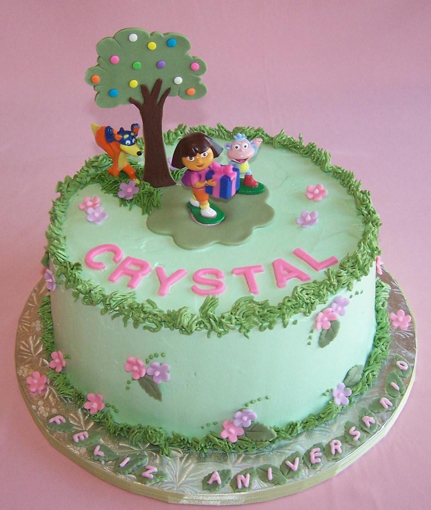 Dora Cake Happy Birthday Crystal Beth Flickr