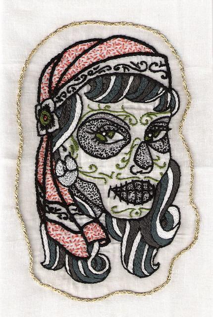 Sexy DIA De Los Muertos Tattoos