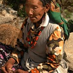 Elderly Nepali Woman - Annapurna, Nepal
