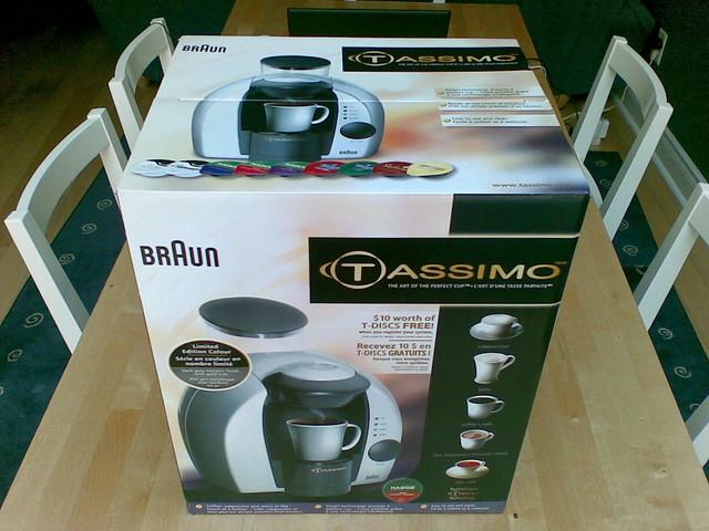 Braun Tassimo Coffee Maker All Lights Flashing : photo