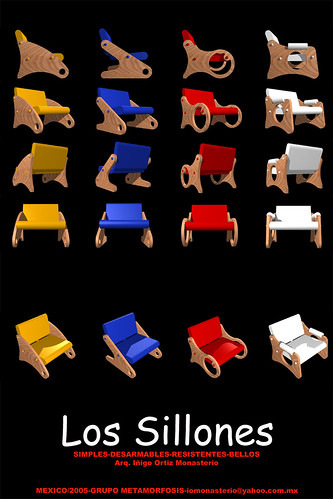 LOS SILLONES (una idea simple con múltiples alternativas)