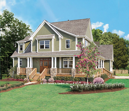Trotterville home plan donald a gardner architects inc for Gardner inc