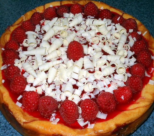 White Chocolate Raspberry Cheesecake 4 | Flickr - Photo Sharing!