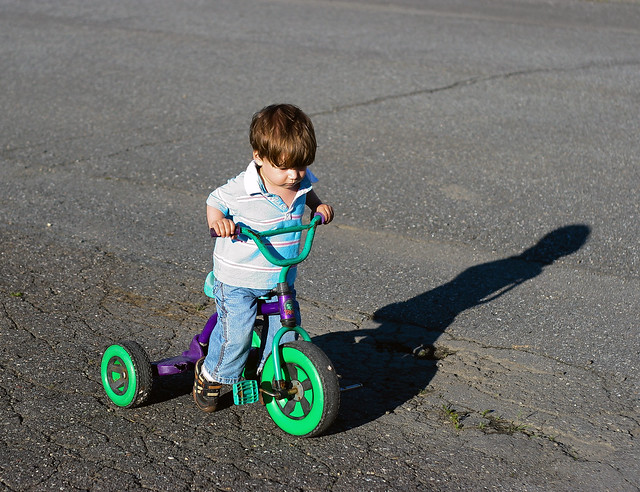 Axel et le tricycle II