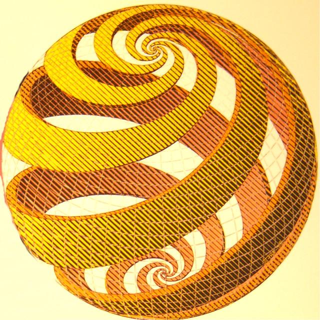 Escher Spiral