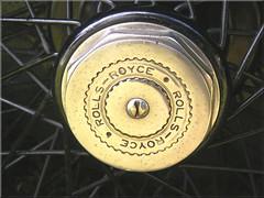 Wheel hub 1929 Rolls Royce