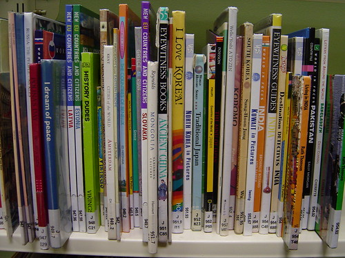 Public library children's cultural books section