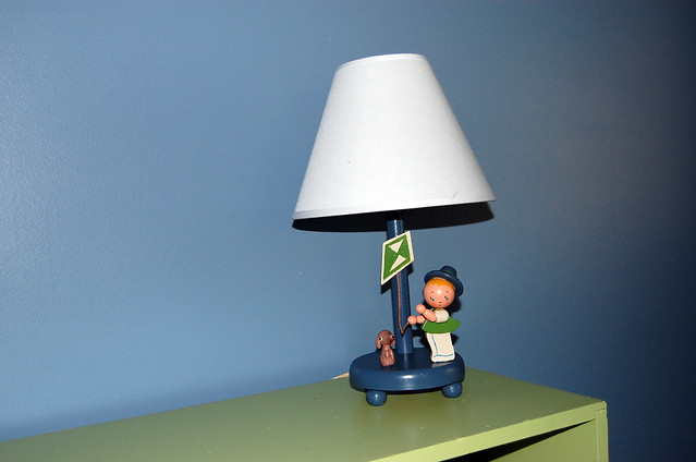 Revamped Vintage Lamp